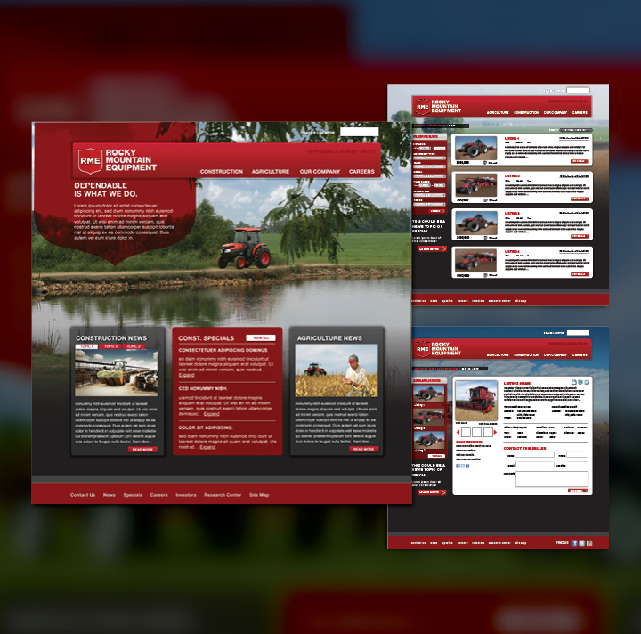 RME Website Design